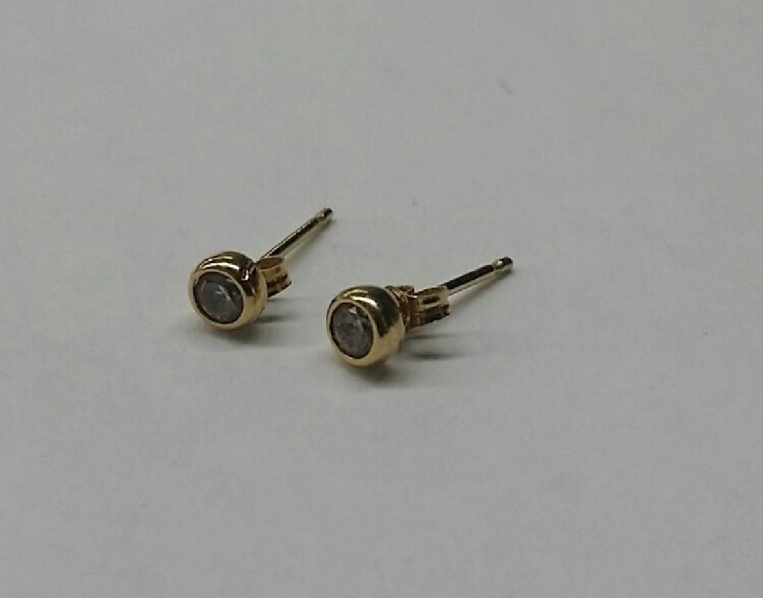 Vintage 18kt Gold Earrings