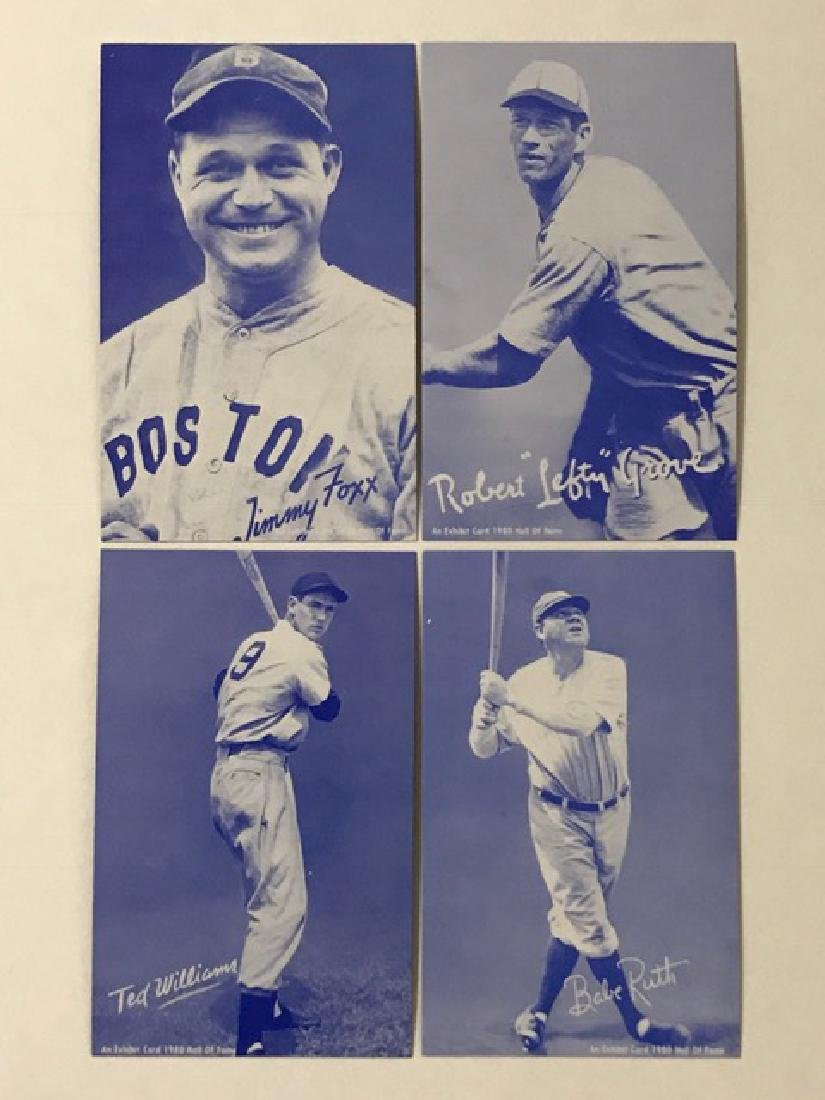 GOAT Vintage Hall of Fame Exhibit Baseball Cards