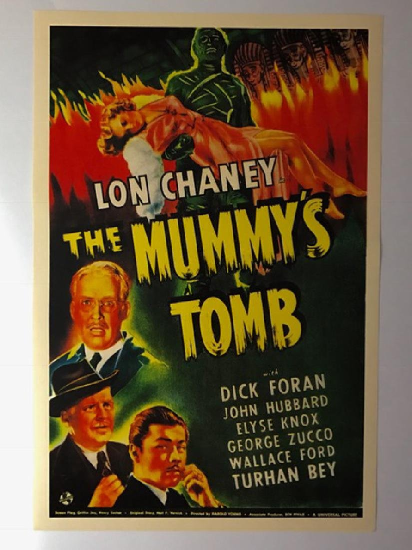 1942 The Mummy's Tomb Movie Lobby Card Poster