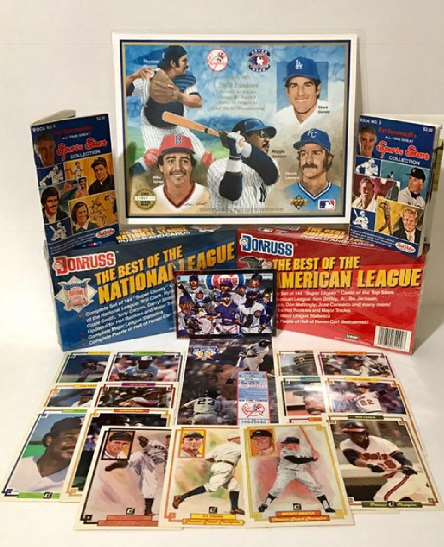 Great Lot of Vintage Baseball Cards & Collectibles