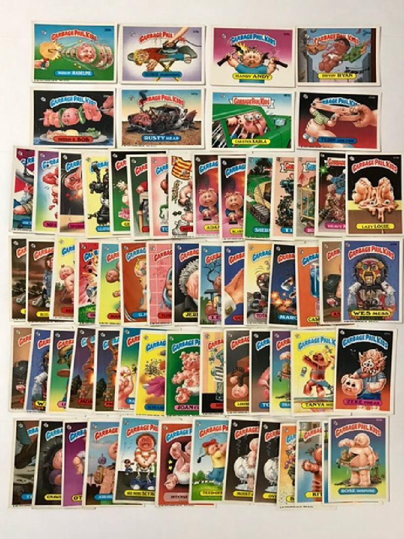 LG Lot of Original 1980's GARBAGE PAIL KIDS Cards