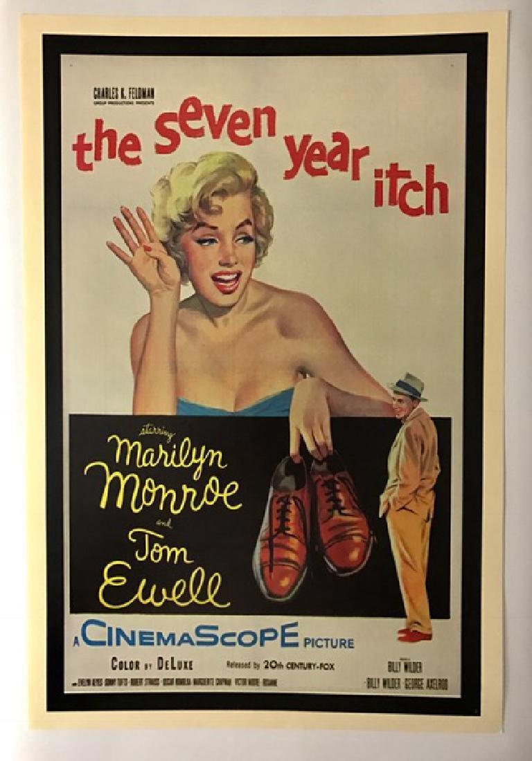 1955 MARILYN MONROE Movie Theatre Lobby Poster