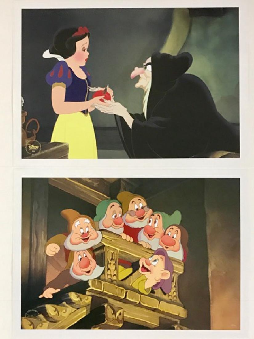 Signature Walt Disney SNOW WHITE Art Lithographs
