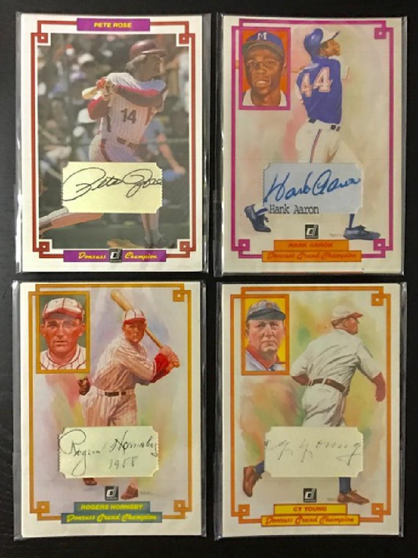 Rare Artist Proof Signed Jumbo Baseball Cards