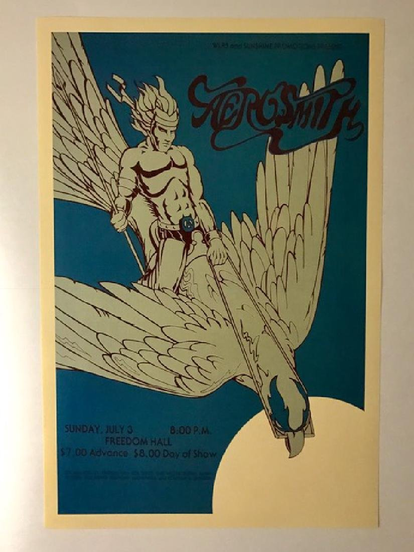 AEROSMITH Freedom Hall Music Concert Poster