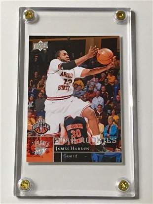Mint JAMES HARDEN Rookie Basketball Card