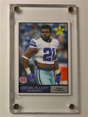 Mint EZEKIEL ELLIOTT Rookie Football Card