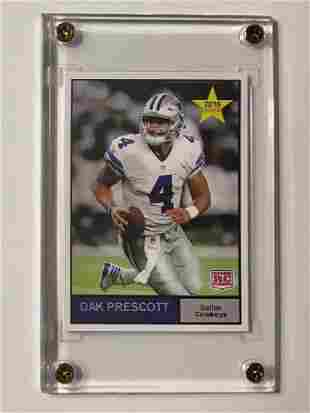Mint DAK PRESCOTT Rookie Football Card