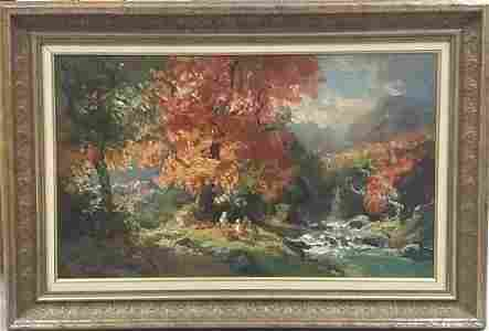 Giovanni Madanini Italian Oil on Canvas