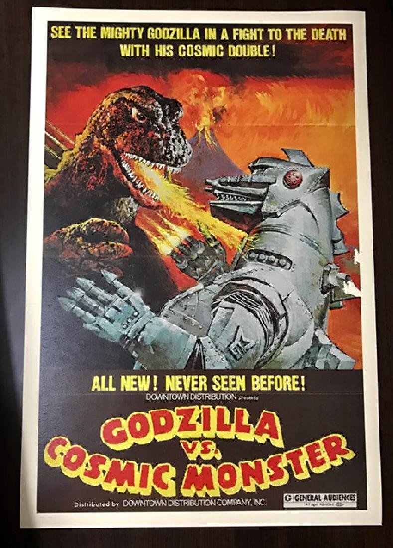 GODZILLA vs COSMIC MONSTER Movie Lobby Card Poster