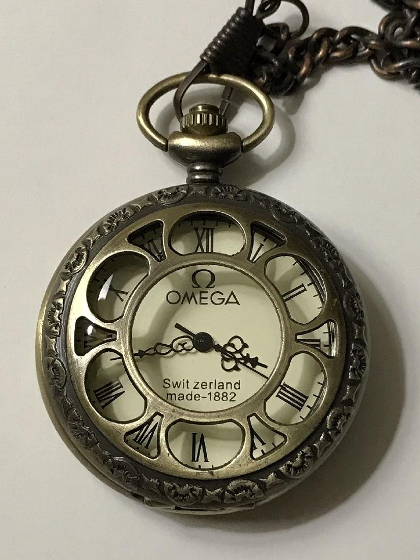 Vintage OMEGA Swiss Made Mechanical Pocket Watch
