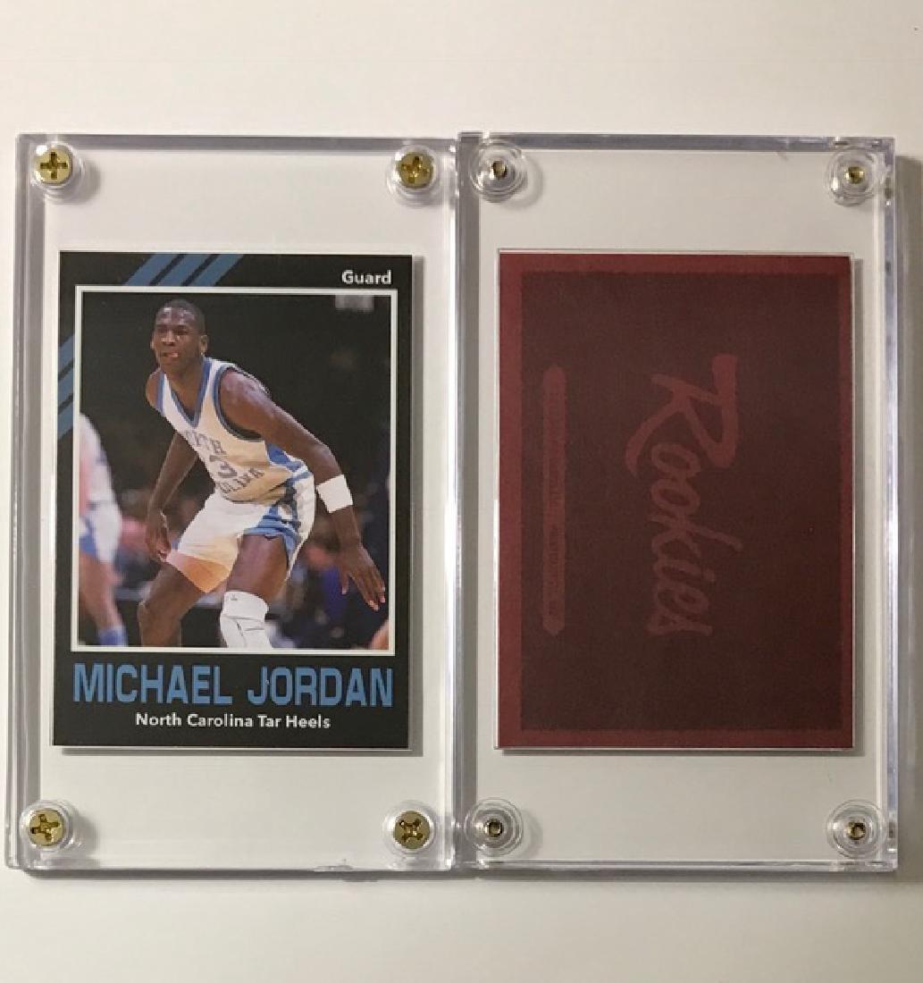 MICHAEL JORDAN Rookies Collegiate Basketball Card