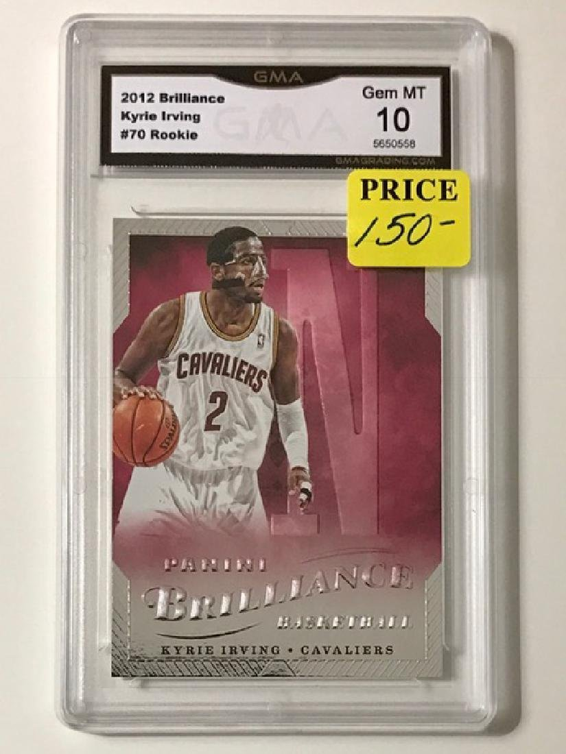 Gem Mint KYRIE IRVING Rookie Basketball Card
