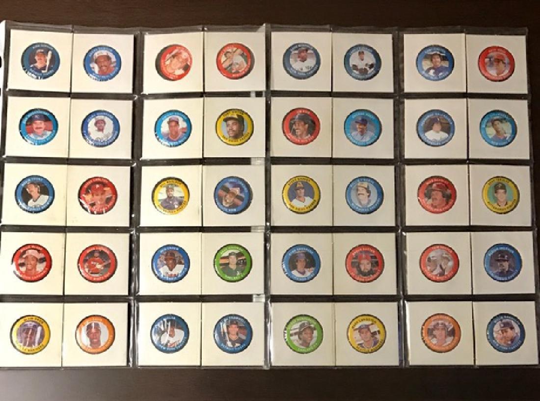1984 - Lot of 40 Baseball Superstar Promo Buttons