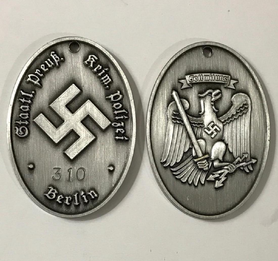 WW2 Nazi Germany Secret Police Gestapo Badge