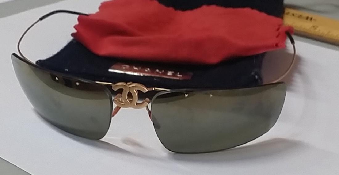 Vintage Channel Men's Folding Glasses
