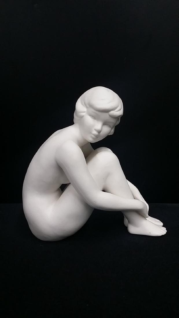 Vintage Goebel White Porcelain Nude Figure