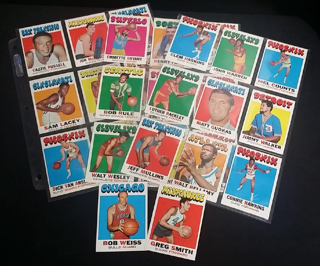 Lot of Vintage Late 1960s Basketball cards