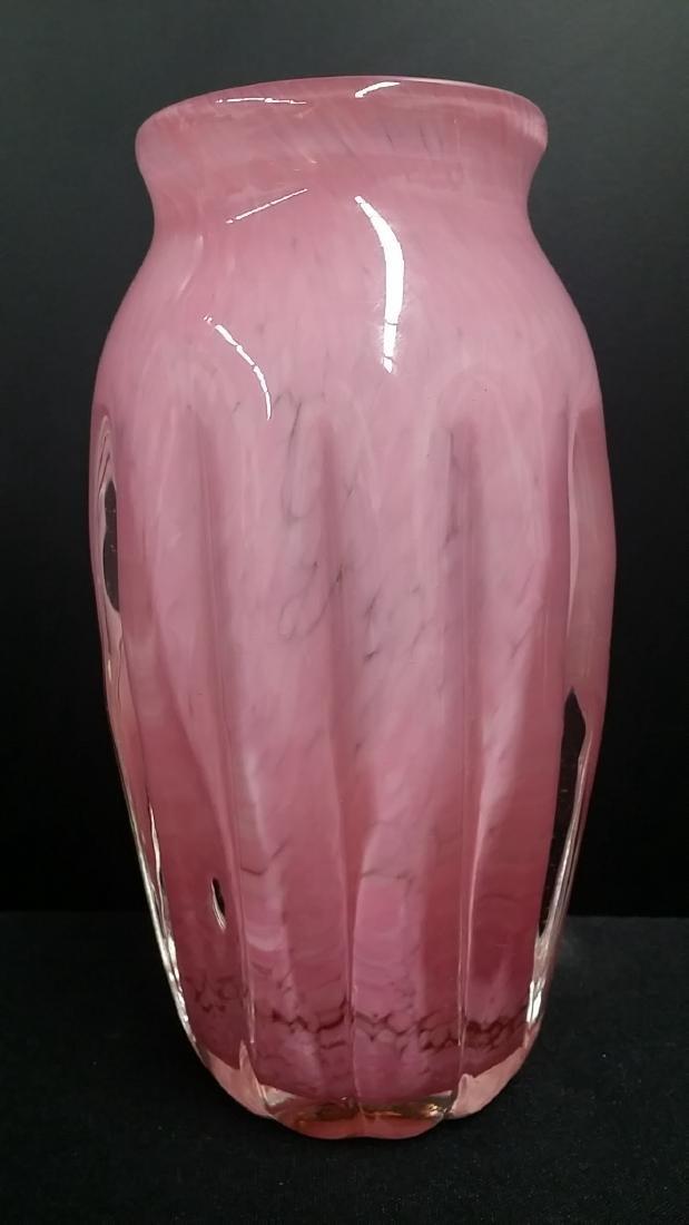 Vintage Murano Style Art Glass Vase