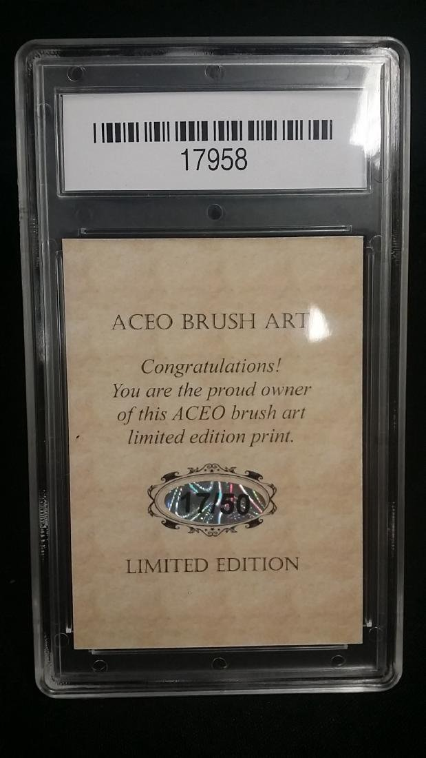 ACEO Brush Art Limited Babe Ruth Card GEM MINT 10 - 2