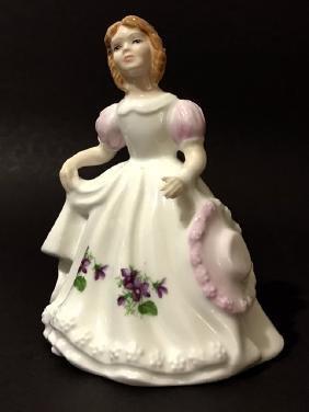 VTG/Rare ROYAL DOULTON Figurine of the Month/FEB