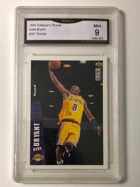 Mint Grade KOBE BRYANT Rookie Basketball Card