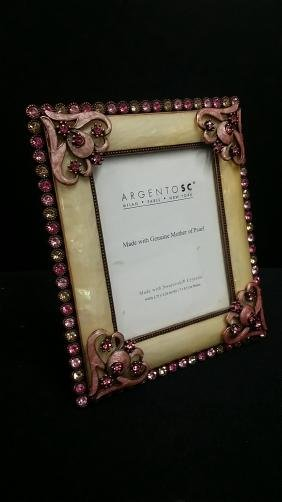 Beautiful Argento Enamel & Swarovski Crystal Picture