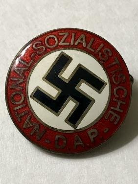 German Nazi Socialist WW2 Enameled Uniform Pin