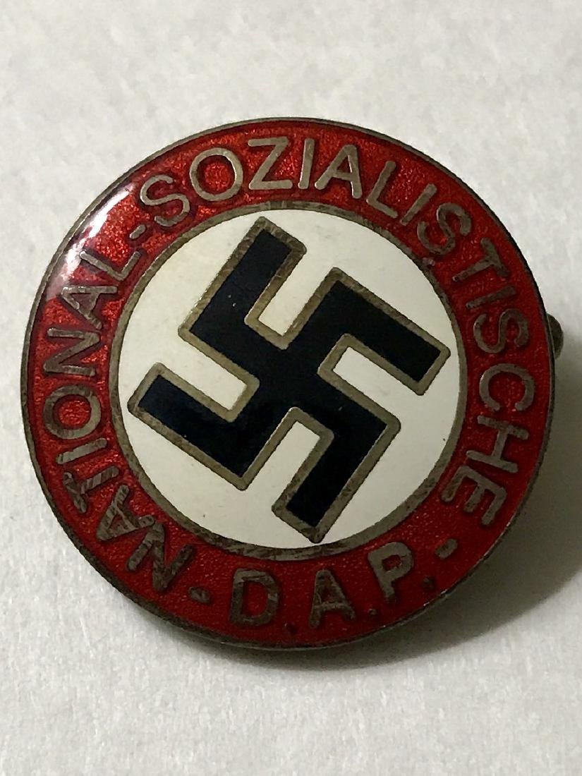 German Nazi Socialist WW2 Enameled Uniform Pin