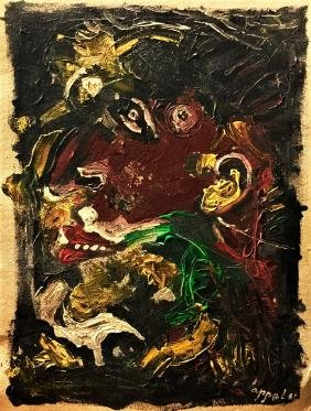 Attributed to KAREL APPEL (1921-2006)