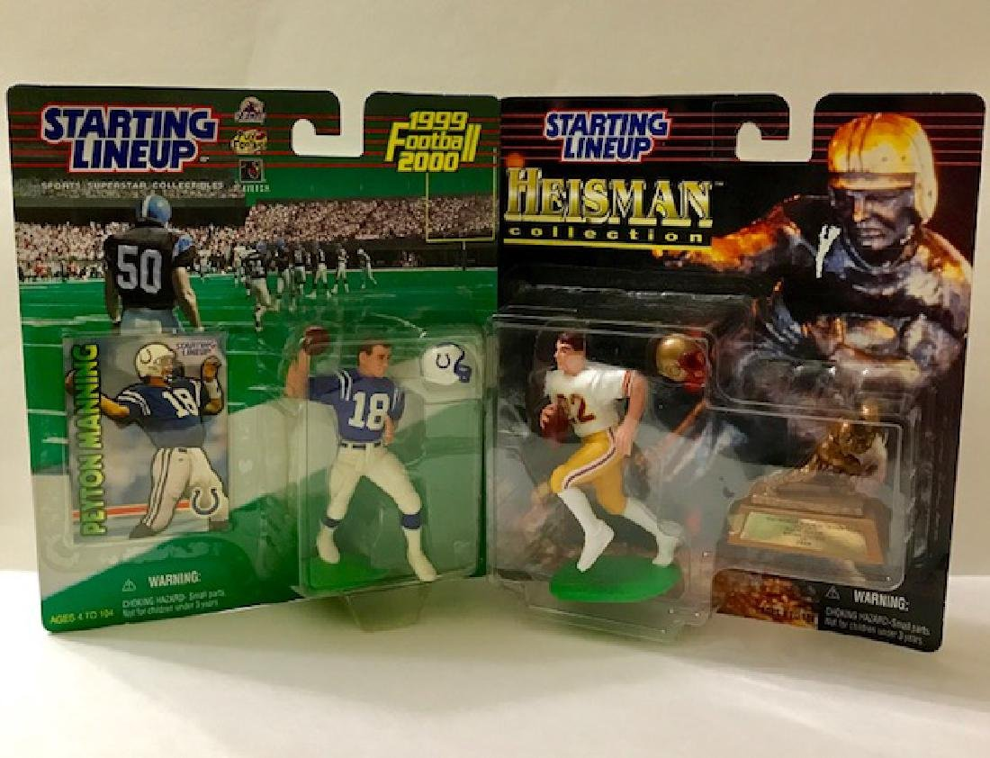 Pair of 1st Edition Rookie Starting Lineup Figures