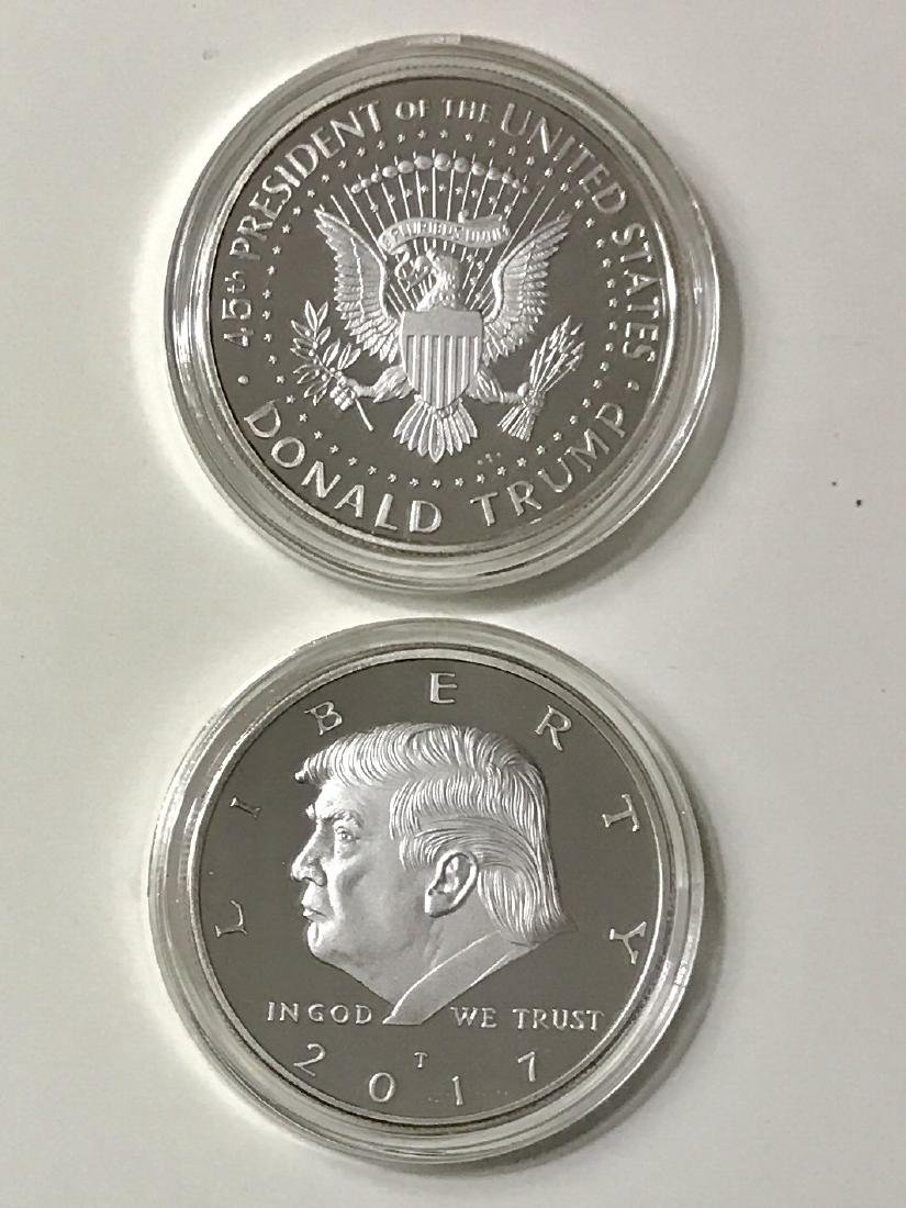 Inaugural 2017 DONALD TRUMP Encapsulated Coin