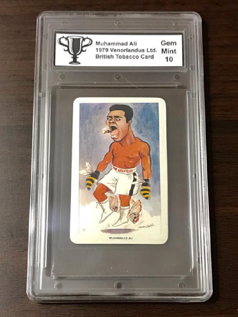 1979 Gem Mint 10 MUHAMMAD ALI Tobacco Card