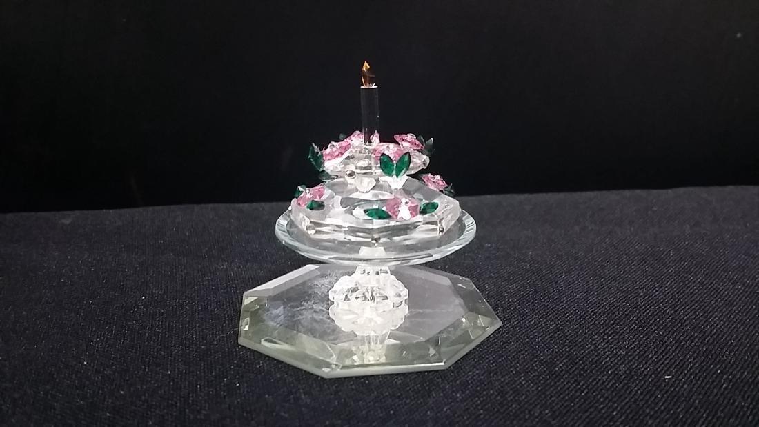 Swarovski Style Crystal Cake