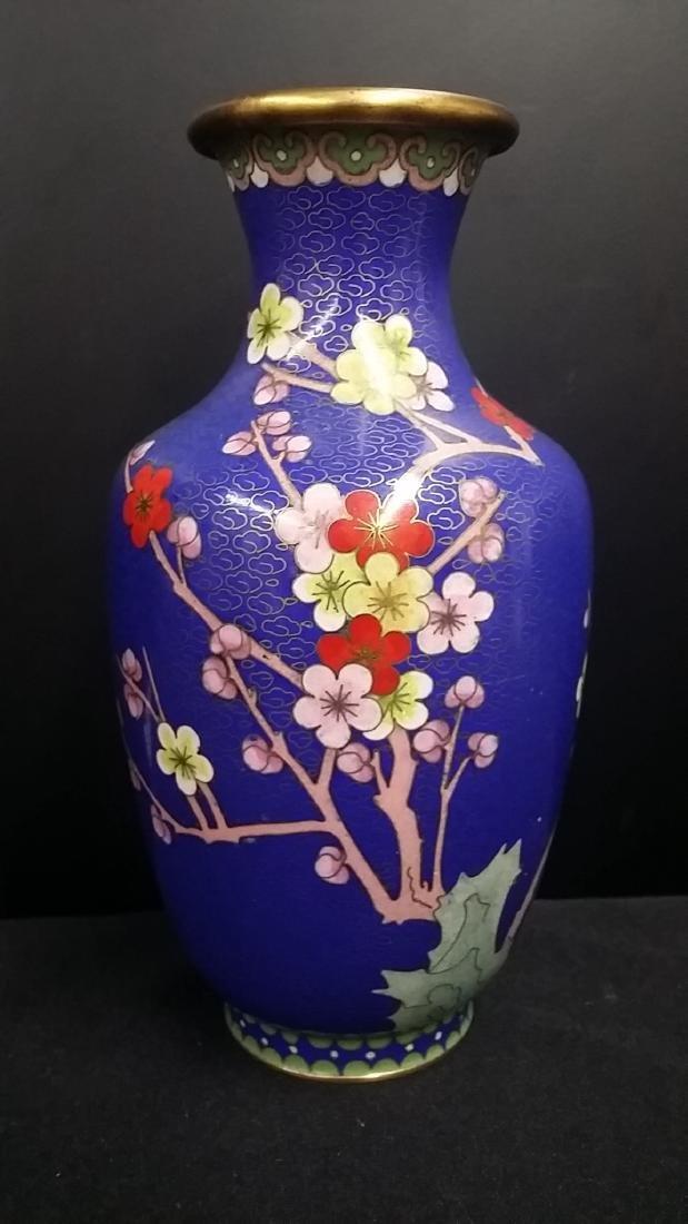 Vintage Cloissonne Chinese Vase