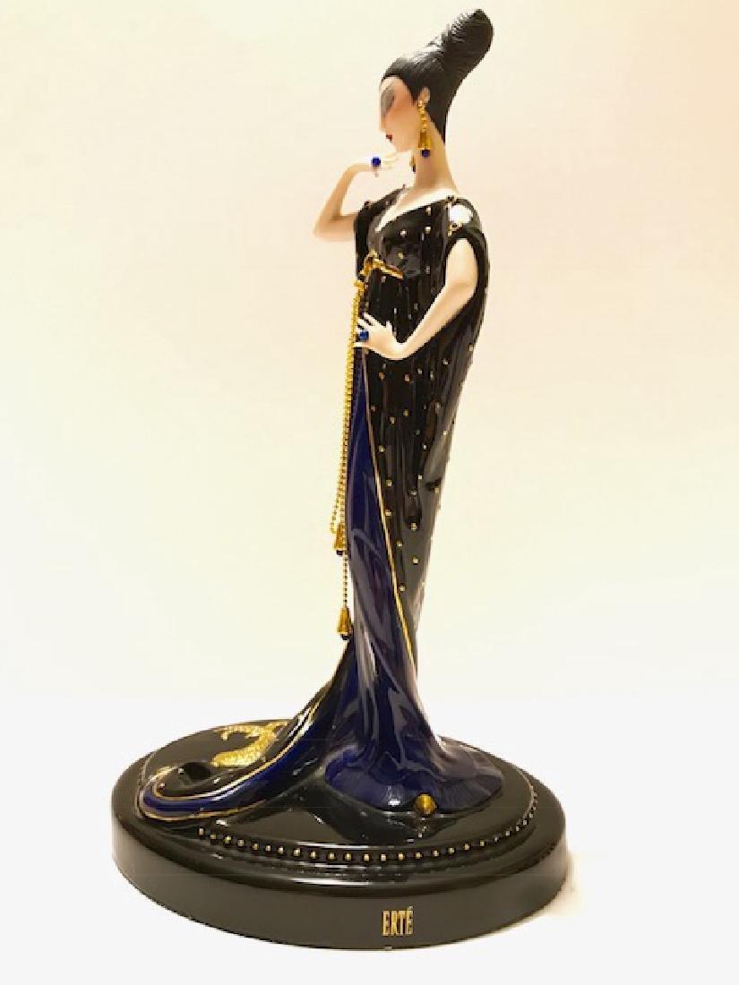 Stunning Signed ERTE Art Deco Porcelain Figurine - 5