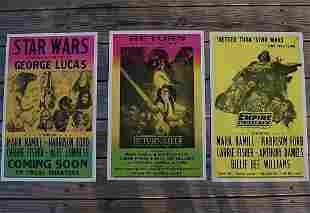 STAR WARS Trilogy Movie Theatre Lobby Card Posters