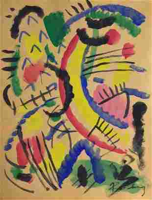 Attributed to WASSILY KANDINSKY (1866-1944)