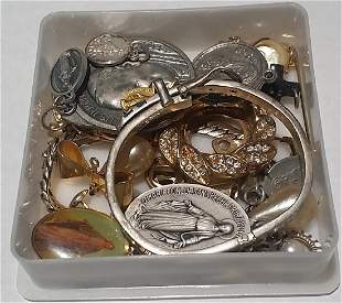 Lot of Assorted Vintage Religious Jewelry