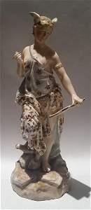 Antique Sitzendorf Porcelain Figurine