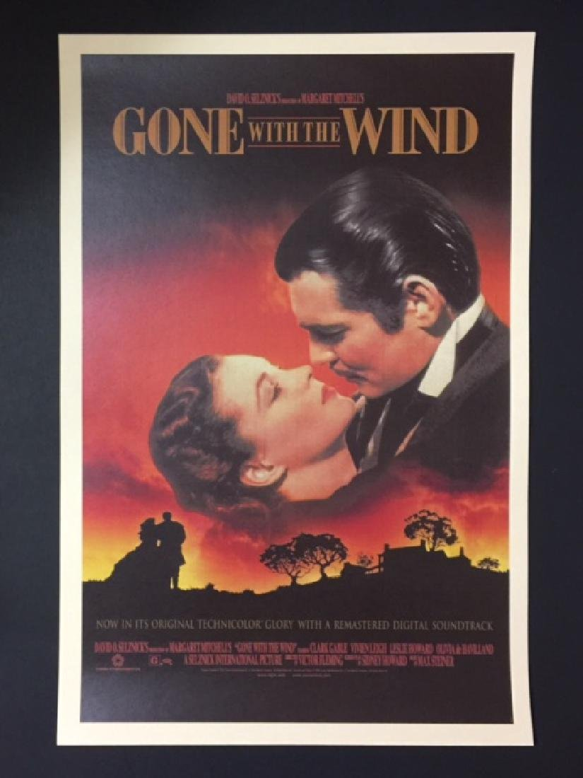 GONE WITH THE WIND Movie Lobby Card Poster