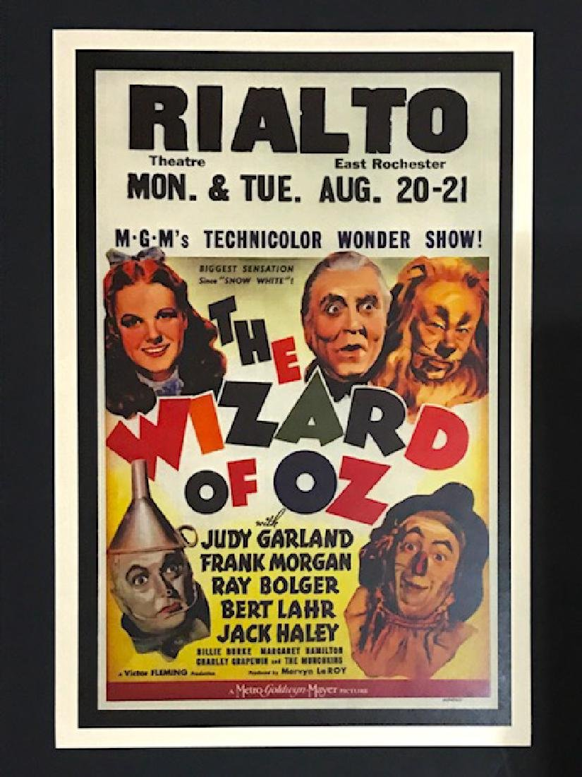 The Wizard of Oz Movie Theatre Lobby Card Poster