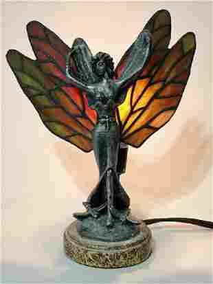 Beautiful Tiffany style Working Night Stand Lamp