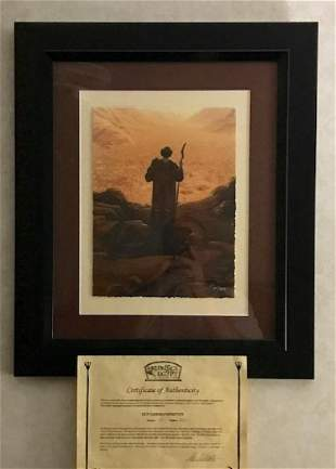 RARE Fine Art GICLEE by MICHAEL KOELSCH with COA