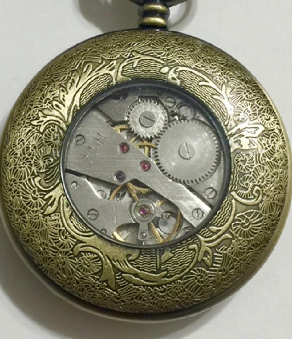 Vintage OMEGA Swiss Made Mechanical Pocket Watch - 3
