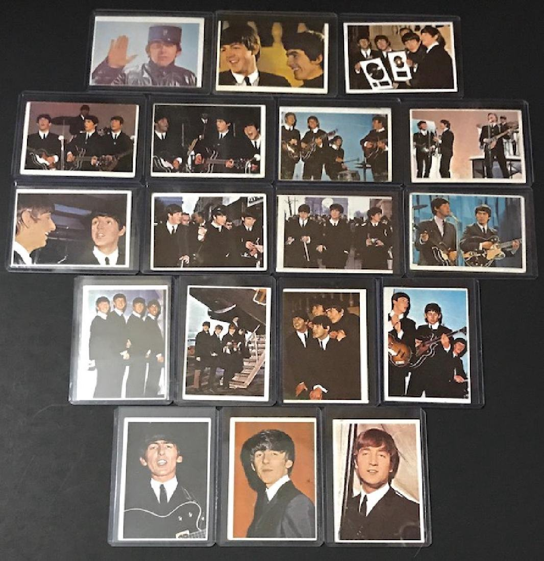 Lot of 18 – 1964 The Beatles Topps Trading Cards