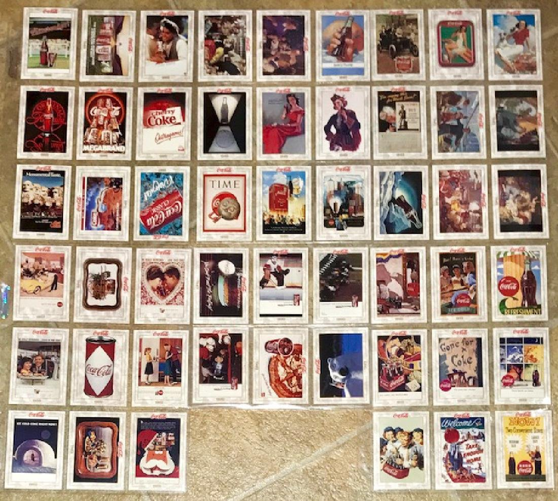 Lot of 51 Vintage History of COCA-COLA Cards