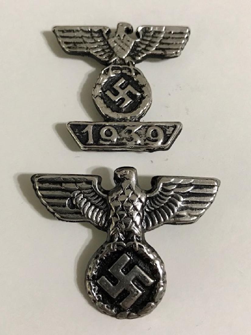 Lot of 2 Nazi Germany Militants Uniform Pins