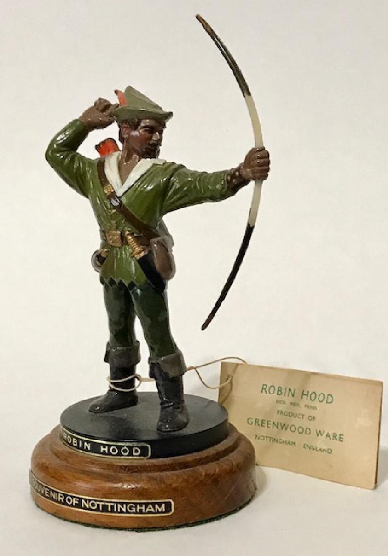 Rare Greenwood Ware England ROBIN HOOD Figurine