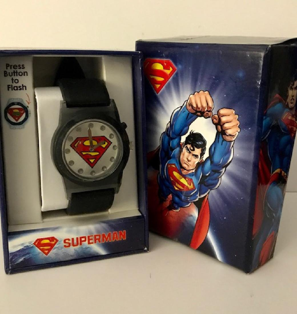 Vintage/New SUPERMAN Watch in Box Never Worn
